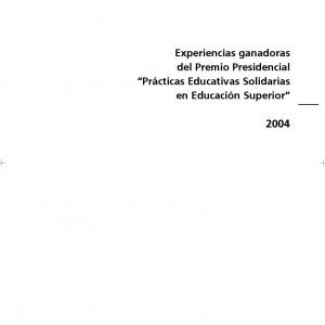 Experiencias ganadoras del premio presidencial
