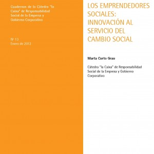 Los emprendedores sociales: innovación al servicio del cambio social