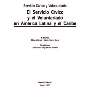El Servicio Cívico y el Voluntariado en América Latina y el Caribe