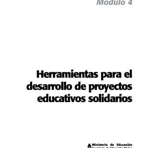 Herramientas para el desarrollo de proyectos educativos solidarios