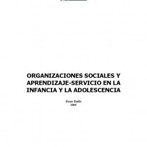 Organizaciones sociales y Aprendizaje-Servicio en la infancia y la adolescencia
