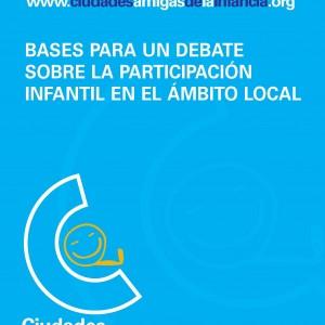 Bases para un debate sobre la participación infantil en el ámbito local